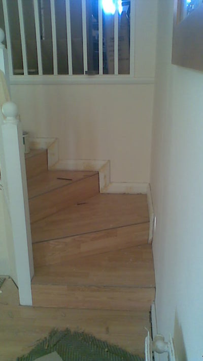 custom made stairs,front view
