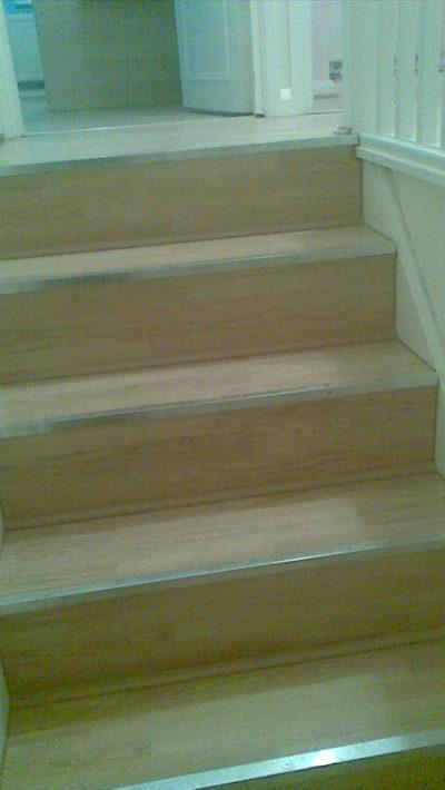 stairs, laminate