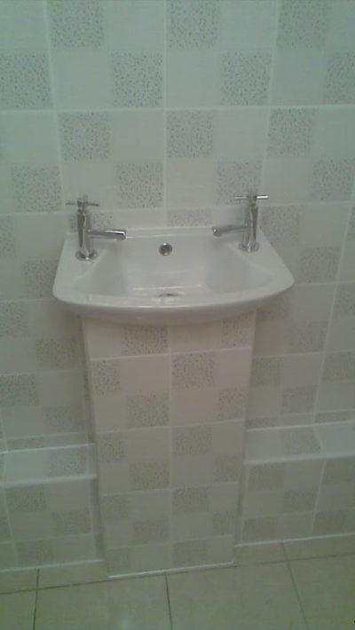 cloakroom tiling