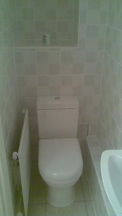 cloakroom, heater, tiling