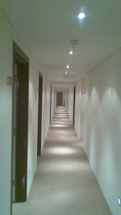 building, corridor painting