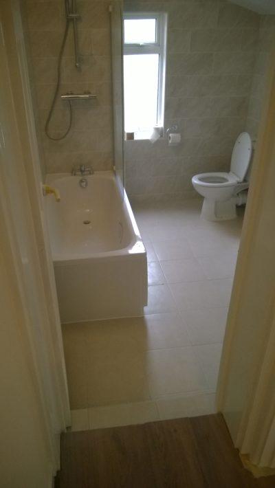 bathroom - house extension