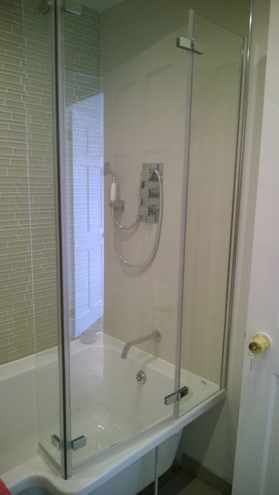 bath with screen
