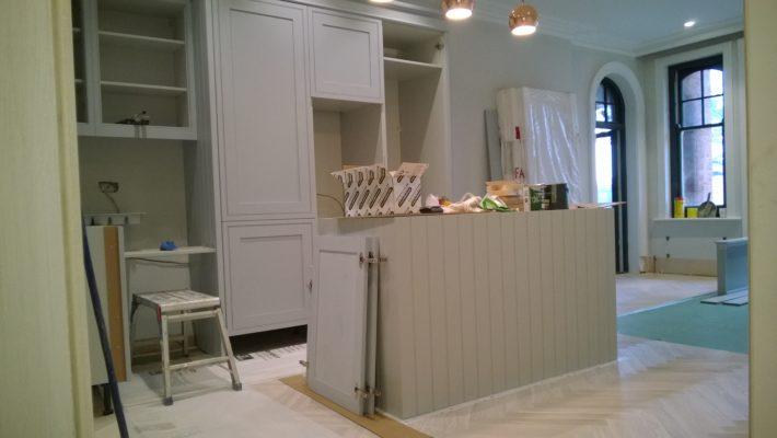 kitchen, kitchen island