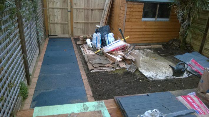 garden path tiling