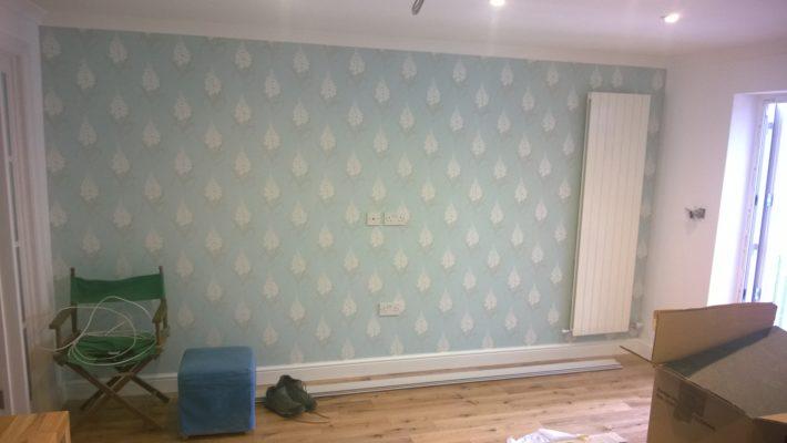 accent wall wallpaper