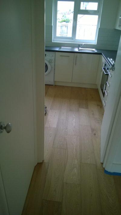 kitchen fitting & floor