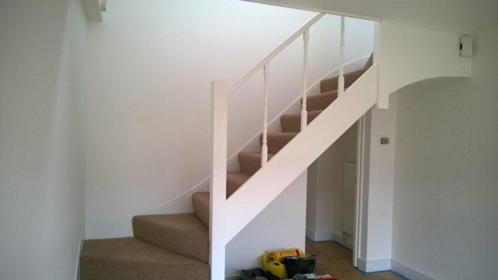 handrail painting