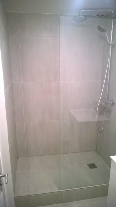 bathroom tiling, shower