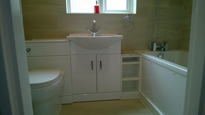 new bathroom, white