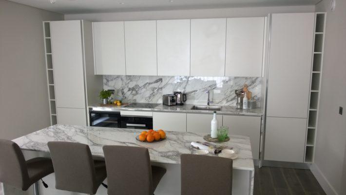 classic, white kitchen