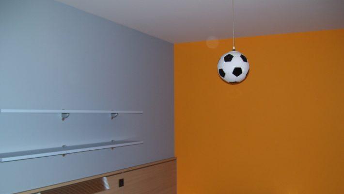 colourful kids bedroom